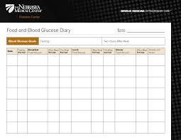 Blood Sugar Monitoring Chart Download Blood Sugar Diary Sada Margarethaydon Com