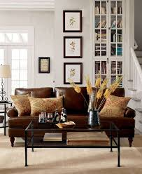 leather furniture living room ideas. contemporary living white paint wall cube bookcase combine pottery barn living room ideas with  brown leather sofa black glass coffee table cream rug area at awesome  in furniture
