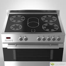 electric stove. Beautiful Electric Euromaid Electric Stove And Grill 3d Model Max Obj Fbx 2 To Electric Stove 0