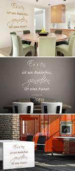 Dekoration Wandtattoo Küche Esszimmer Wandsticker Sprüche