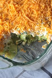 If you can't find a large can of tuna you can use 2 6 ounce or. Classic 7 Layer Salad Recipe My Farmhouse Table