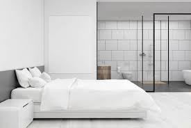 Large Bedroom Design Impressive Close Up Of A Bedroom Interior With A Large Double Bed And A Stock