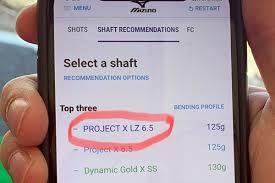 First Look Mizuno Shaft Optimizer 3d