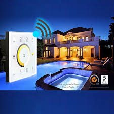 d7 dmx512 4 zones control dc12 24v d series dimming touch panel controls luxury hospitality effortless home automation