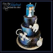 Awesome Fandom Wedding Cake All Hand Crafted Fondant Toppers Dr