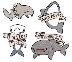 cute shark drawing tumblr.  Shark Credit To Someone On Tumblr With Cute Shark Drawing Tumblr N