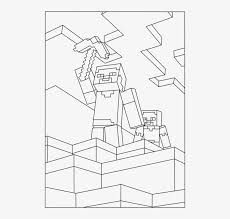 Minecraft Steve Minecraft Coloring Pages Steve And Alex