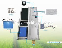 6w to 80w solar light lamp model solar street light proposal fiber optic solar light