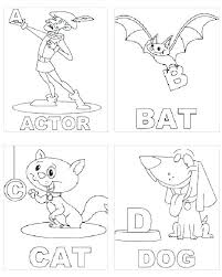 Alphabet Coloring Pages Printable Coloring Pages Coloring Alphabet