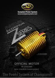 new z car releaseNew release of Scorpion MiniZ Z1410 series motor Our 1st RC
