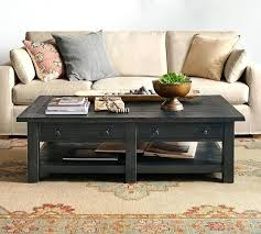pottery barn parquet round coffee table glass wood and metal tables grand c pottery barn benchwright square coffee table tanner round