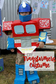 easy diy kid costume transformers costumes are awesome but being optimus prime is a great boy costume diy optimus prime transformer costume
