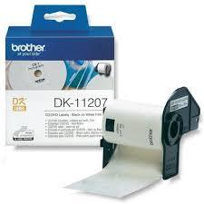 <b>Наклейки на CD/DVD</b> Brother DK-11207 (диаметр 58 мм) 100 шт ...