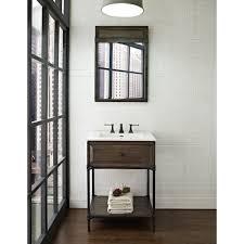 Driftwood Bathroom Vanity Fairmont Designs 24 Inch Toledo Open Shelf Vanity Driftwood Gray