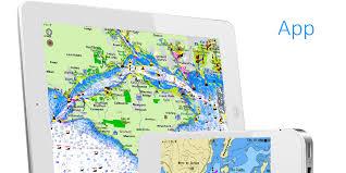 aqua map  ios marine navigation gps boating charts