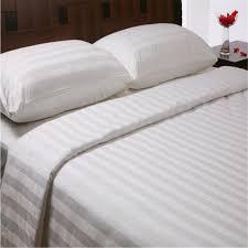 china 3cm stripe white hotel cotton duvet cover china bed sheet pillowcase