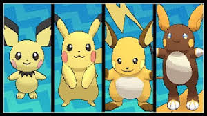 Pikachu Evolution Chart Playlist Youtube