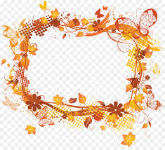 picture frames autumn clip art flower frame png 1875 1677 free transpa picture frames png