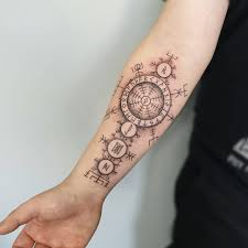Images About Vegvisirtattoo Tag On Instagram Photos Videos