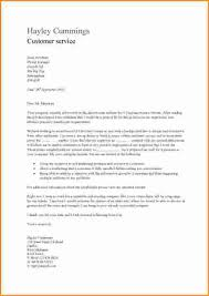 example customer service cover letter 10 good cv examples for customer service invoice template download