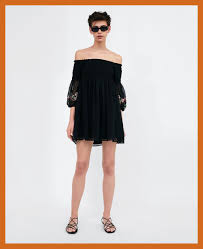 zara woman combined office. Uncategorized Off The Shoulder Dresses Ireland Awesome Dress Black Woman Zara Combined Office