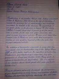 an th grade girl s handwriting album on ur