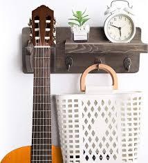 wood guitar wall hanger guitar wall
