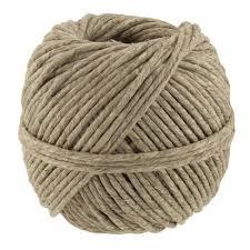 Natural Polished Thick Hemp Cord