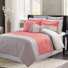 Bed Linen: extraordinary coral colored quilt Coral Bedspread Twin ... & ... Bed Linen, Coral Colored Quilt Coral Colored Duvet Cover Grey Coral And  White Color Double ... Adamdwight.com