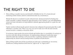 the right to die class powerpoint 5