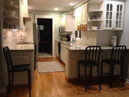 small galley kitchen makeovers stainless types of kitchen layout kitchens ikea narrow galley kitchen with