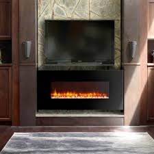 electric fireplace insert with er heat