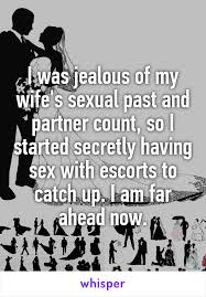 Sexual past of the wife