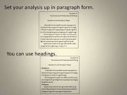 audience analysis example au nce analysis paper tips best ideas of audience analysis essay