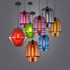 large cool colorful pendant lights colored pendant lights soul speak designs