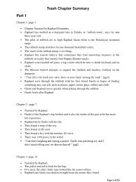 trash chapter summary full raphael crimes