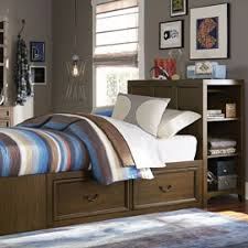 Callum Boys Bed Frame  Metal Blue Finish Low Foot End  Single Boys Bed