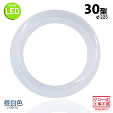Nissin Lux Led Fluorescent Lamp Round Shape 30w Form Lunch White