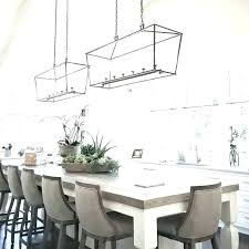 chandelier height over table between and chandeliers dining proper chandelier height from table above