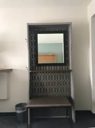 holiday inn orlando international airport stand mirror with bench