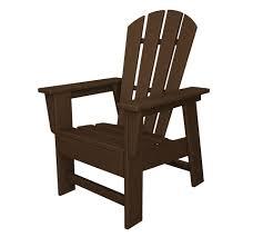 recycled plastic adirondack chair children s adirondack chair mahogany