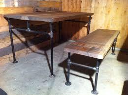 Industrial Pipe Coffee Table Steve Mcfarlane Js Reclaimed Wood Custom Furniture Vancouver Bc