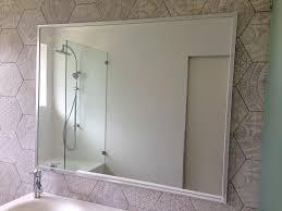bathroom mirror chrome. Chrome Frame Mirror Bathroom \u2022 Mirrors Unique Framed