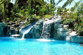 beautiful pools with waterfalls. Modren Pools Rock Waterfall Pool Designs  Breathtaking Waterfalls To Fashion A  DropDead Gorgeous Backyard With Beautiful Pools