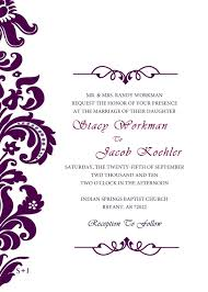 Wedding Invitations Templates Purple Blank Wedding Invitations Templates Purple Miguel And Orlandos