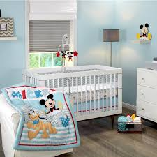 baby nursery medium size nursery bedding collections disney baby mickey mouse lets go 3 piece crib