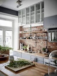 brick backsplash ideas. Red Brick Kitchen Backsplash Ideas / Scandinavian Design