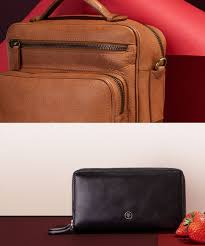 Maxwell Scott Leather Briefcases Luggage Mens Wallets
