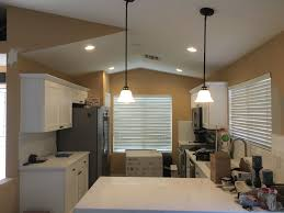how to install pendant lighting. Installed 4 X 6-inch Recessed Lights With A Dimmer Switch And 2 Pendant Lighting How To Install