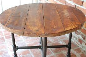 reclaimed wood round kitchen table regarding lovely bar 19 coffee industrial x designs 16
